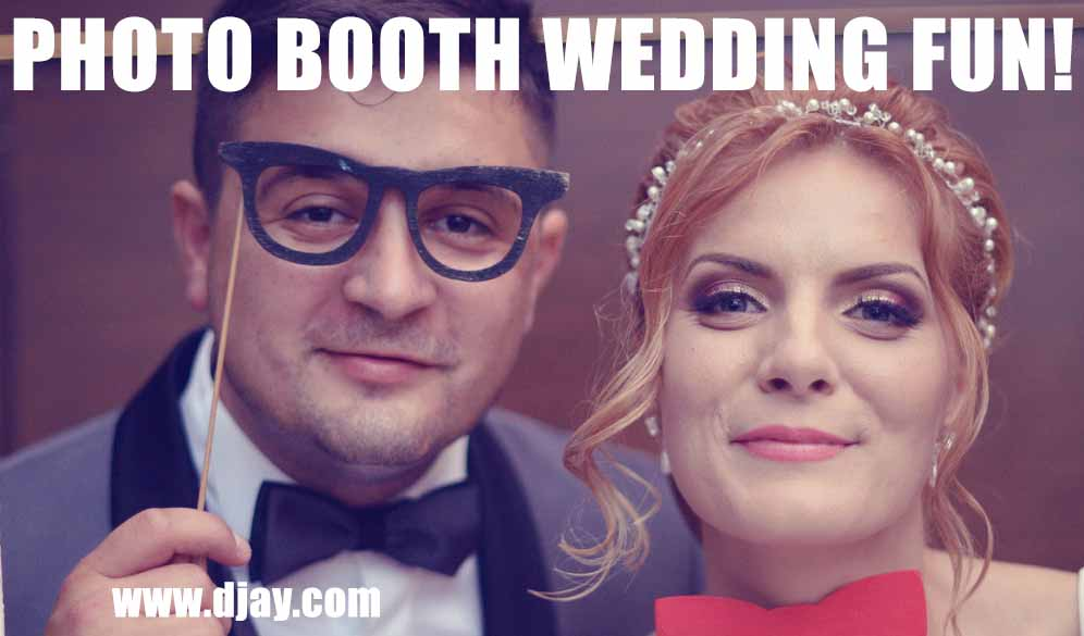 Photo Booth wedding fun